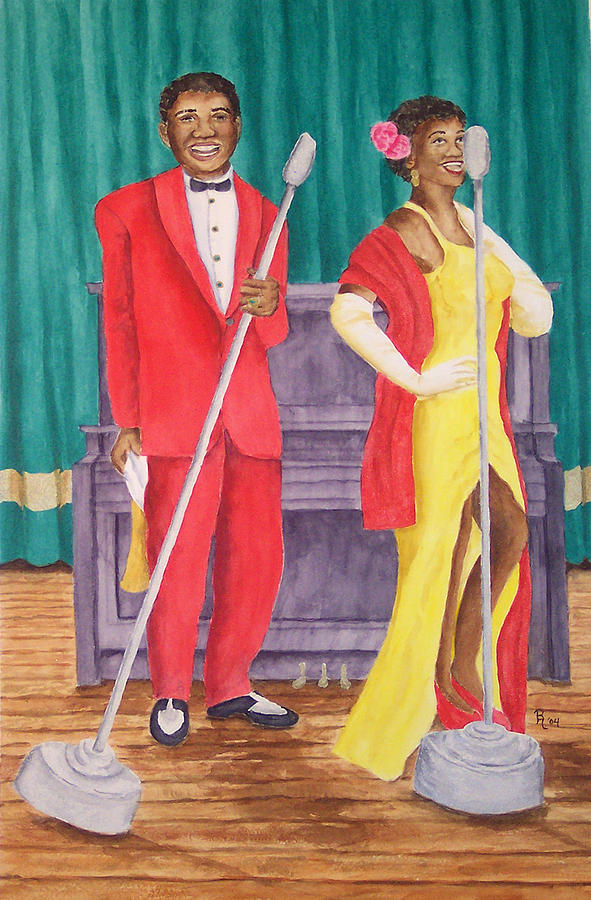 Roosevelt And Lola Painting