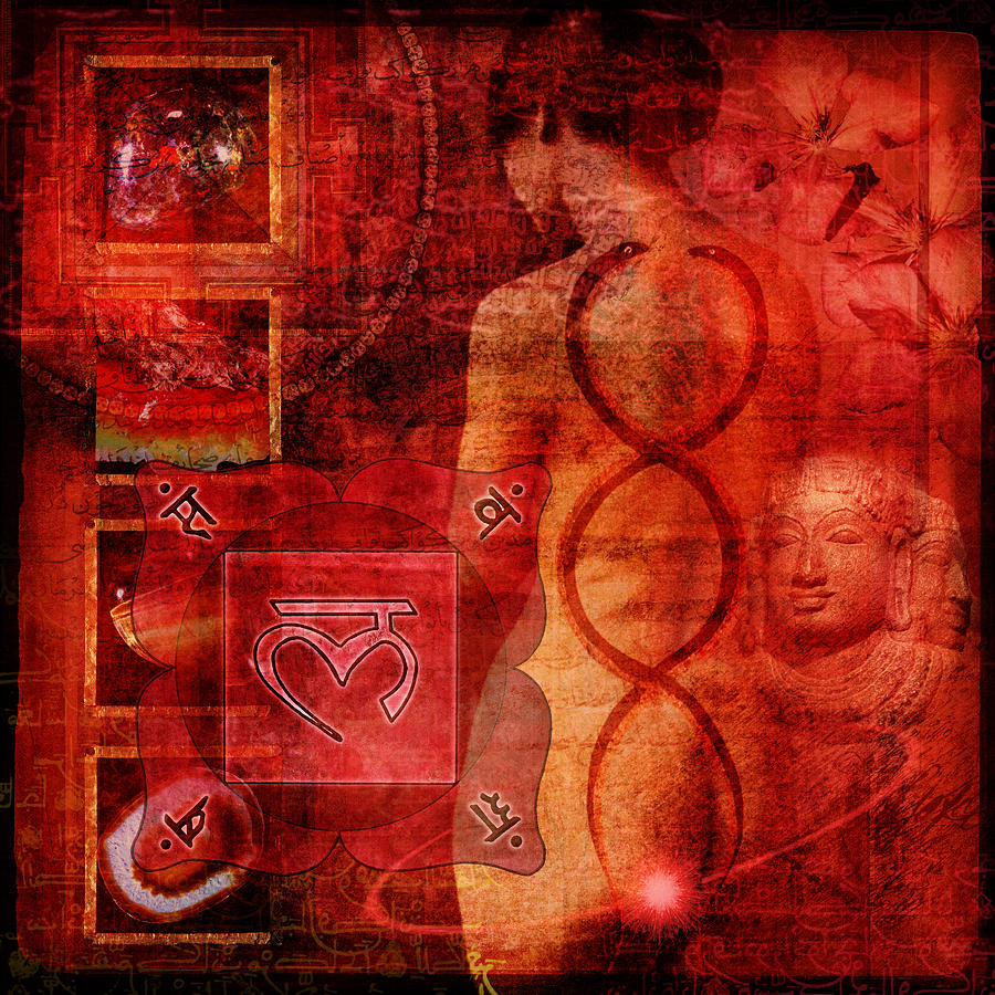 Root Chakra Digital Art