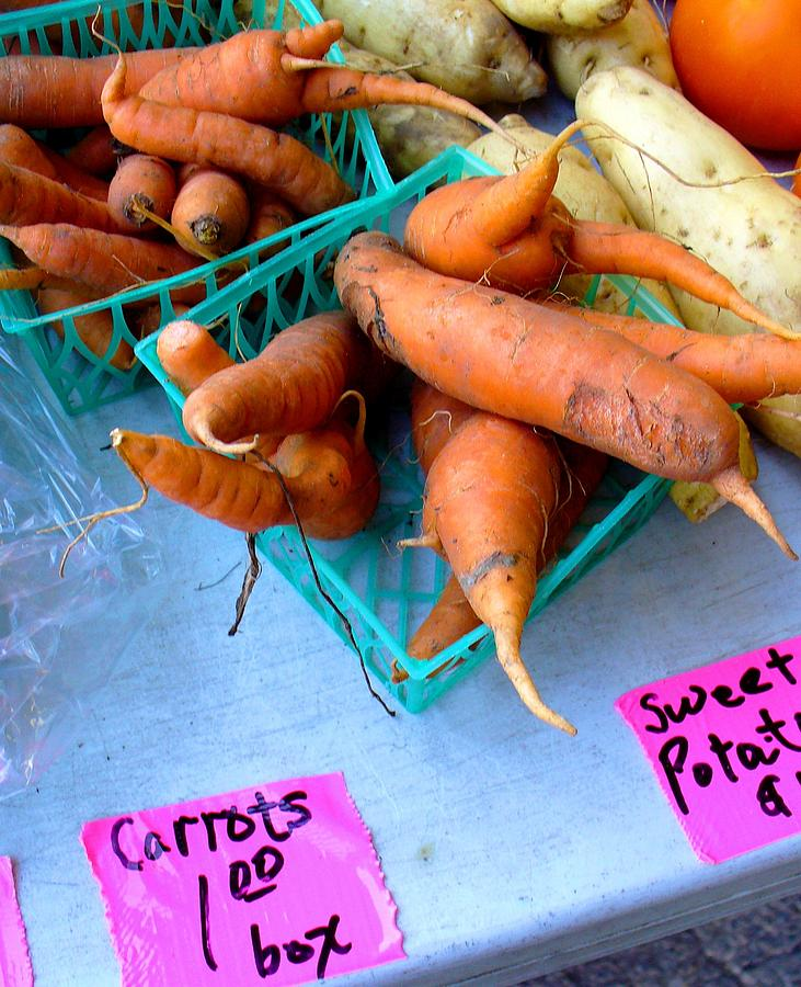 Root Veggies Photograph