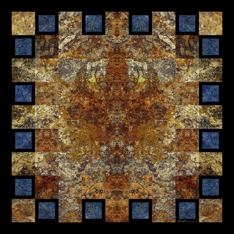 Rorshach Yantra Nine Oh Four Photograph  - Rorshach Yantra Nine Oh Four Fine Art Print