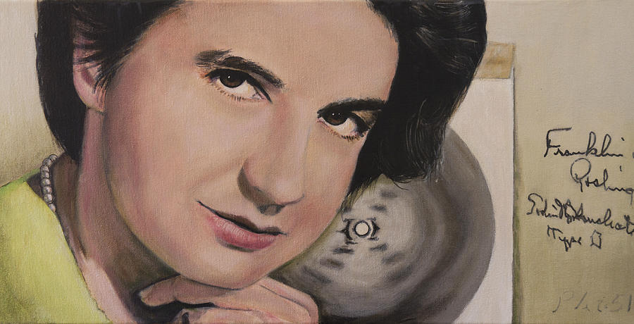 Rosalind Elsie Franklin Painting