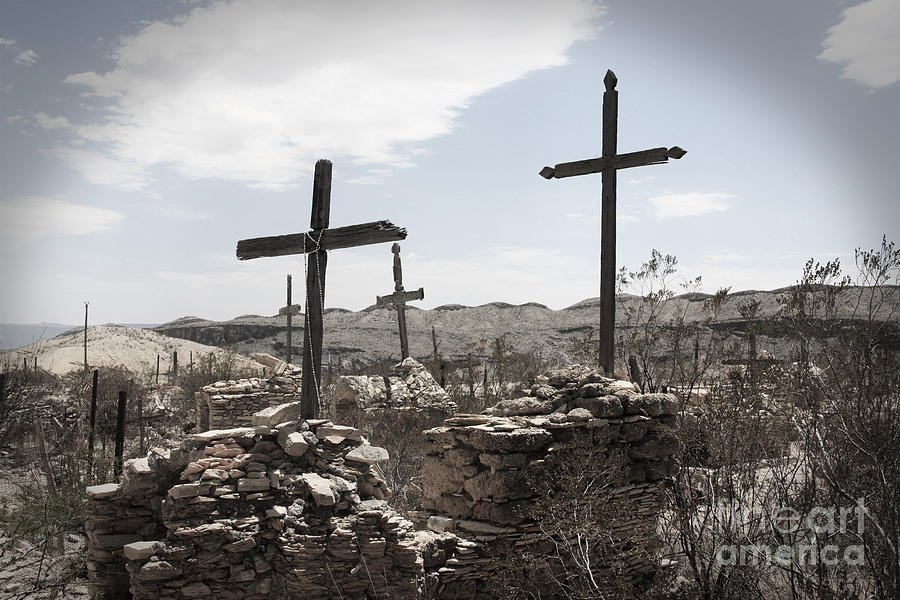 Graveyard Photograph - Rosary For The Dead by April Davis