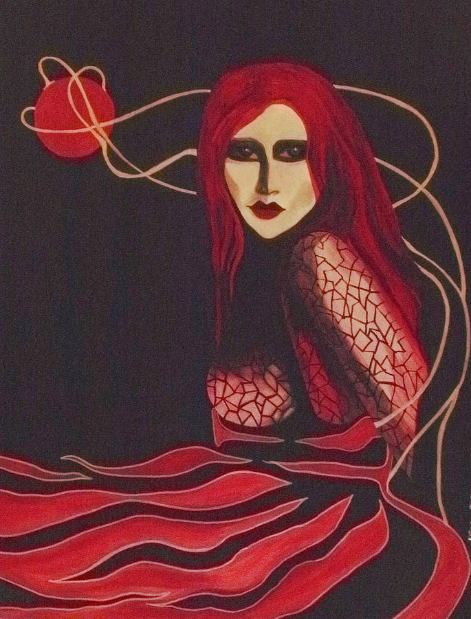 Rose Red Painting
