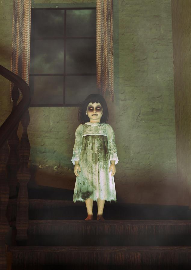 Rosemary - A Child Possessed Digital Art