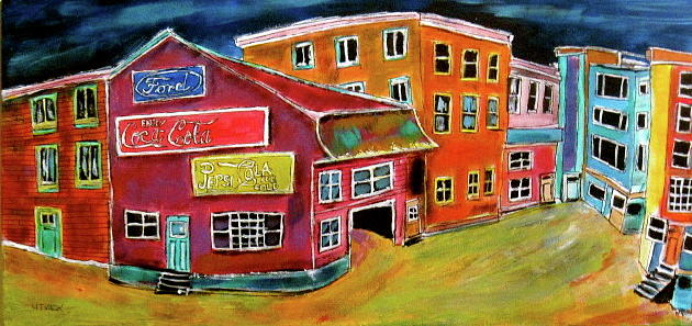 Rosemount Street Painting