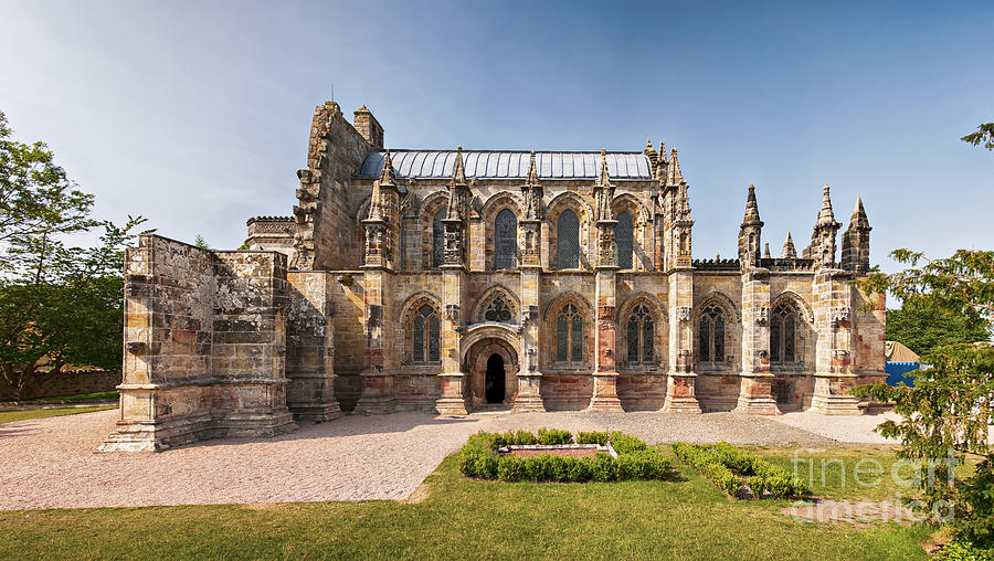 Rosslyn Chapel 01 Photograph  - Rosslyn Chapel 01 Fine Art Print