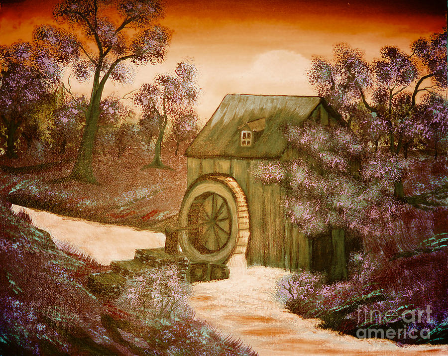 Rosss Watermill Painting