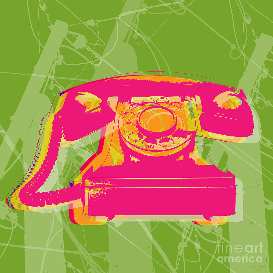Rotary Phone Digital Art