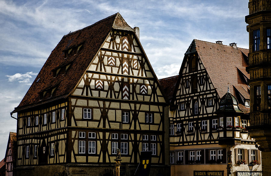 Rothenburg Photograph - Rothenburg Architecture by Joanna Madloch