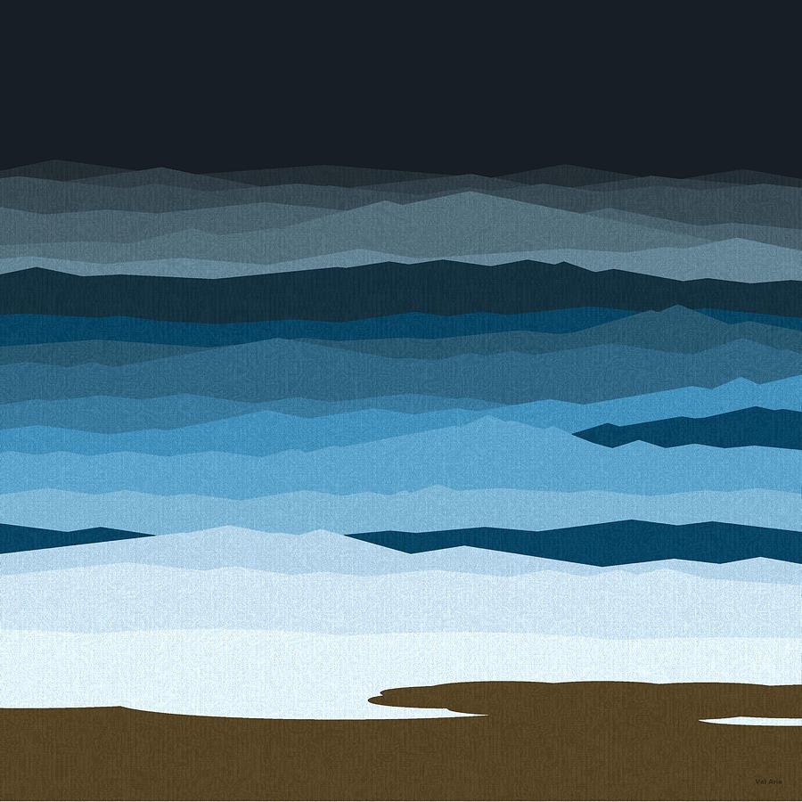 Rough Seas Painting