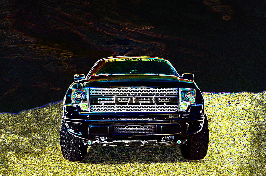 Roush Raptor Photograph  - Roush Raptor Fine Art Print