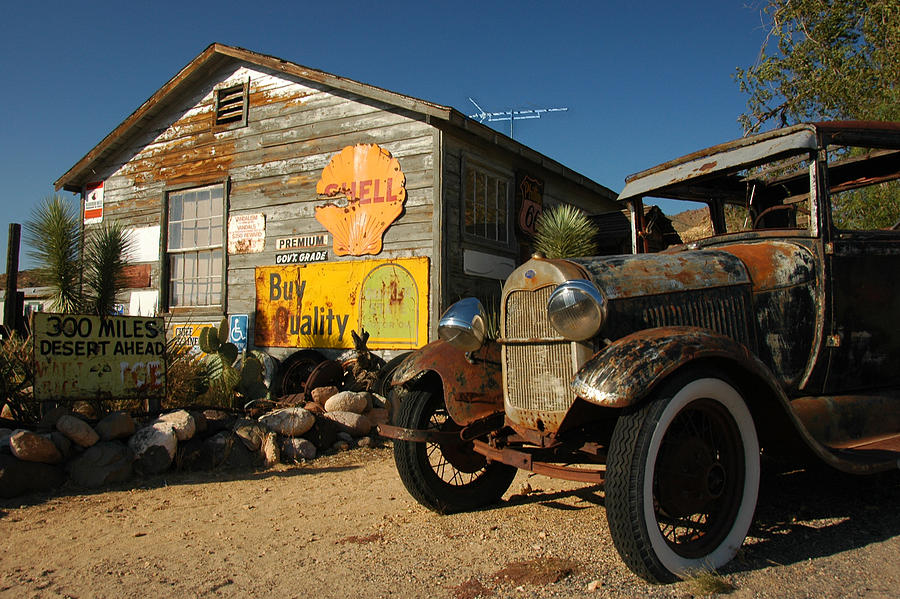 Route 66 Photograph - Route 66 by Paul Van Baardwijk
