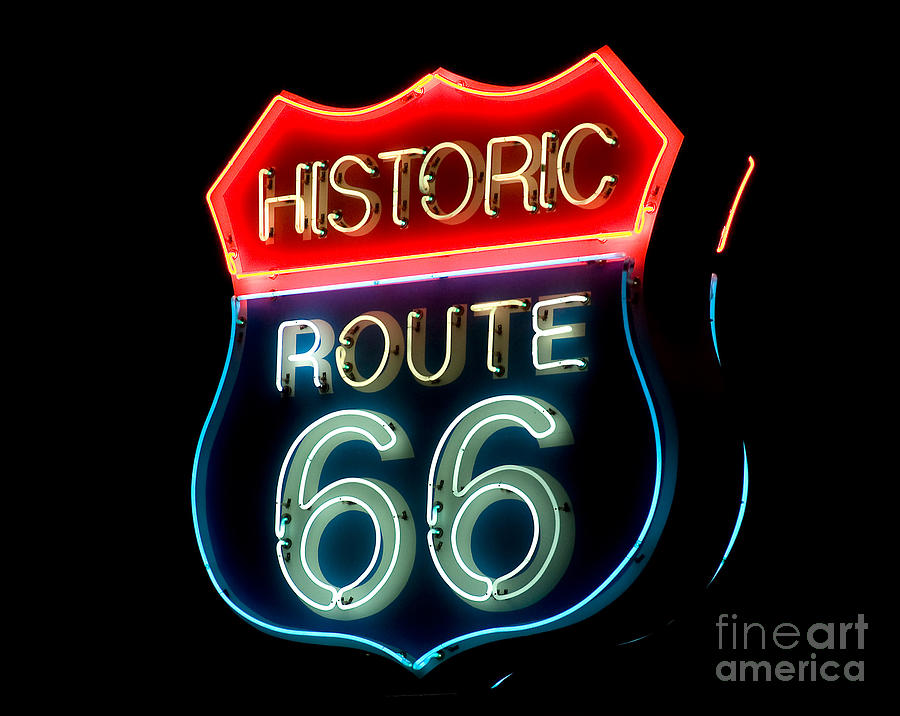 Route 66 Photograph