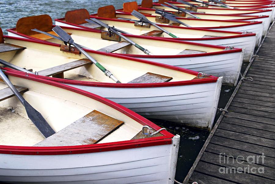 Rowboats Photograph