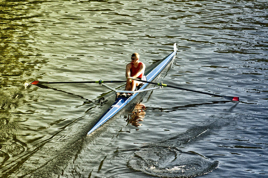 Rowing Crew Photograph  - Rowing Crew Fine Art Print