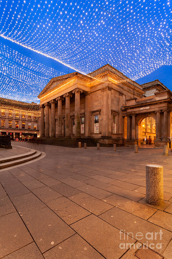 Royal Exchange Square At Borders Photograph