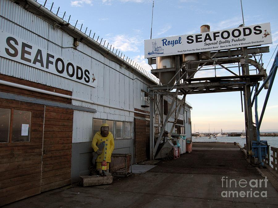 Royal Seafoods Monterey Photograph