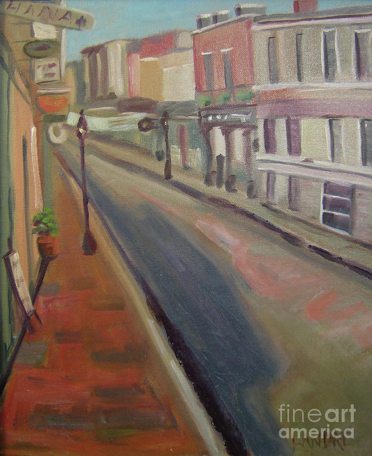 Architecture Painting - Royal Steet I by Lilibeth Andre