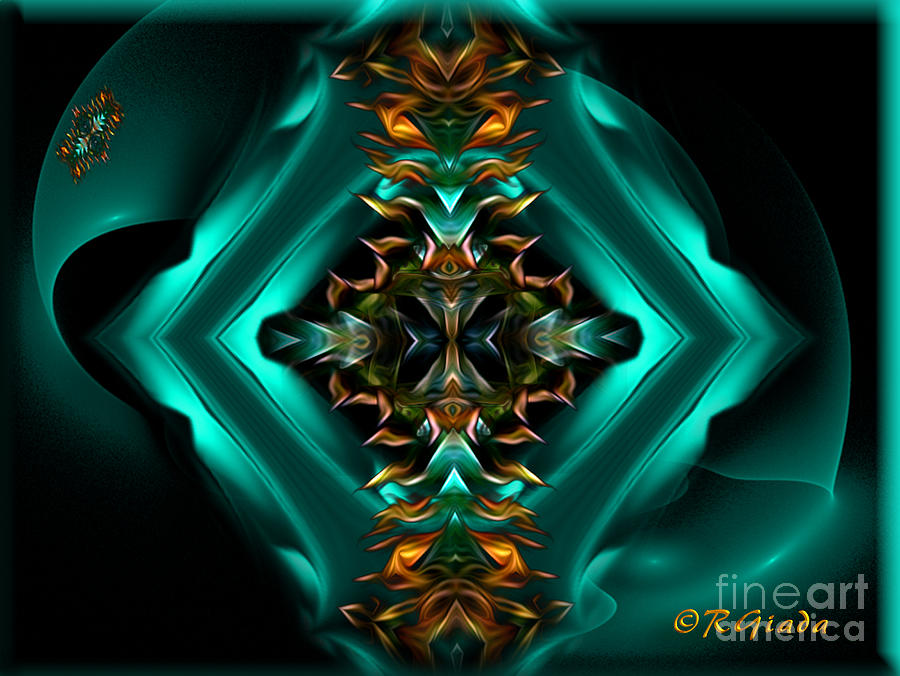 Royalty - Abstract Art By Giada Rossi Digital Art