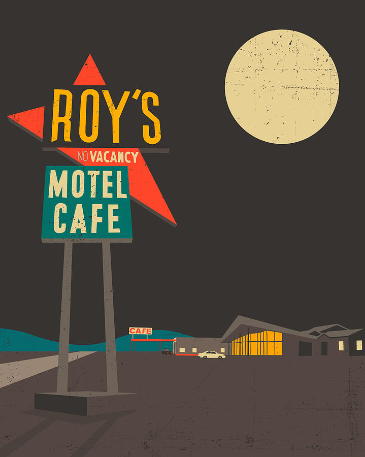 Roys Cafe Digital Art