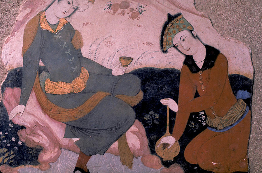 Ancient Photograph - Rubaiyat 0f Omar Khayyam by Carl Purcell