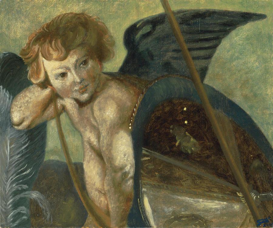 Rubens Angel Painting