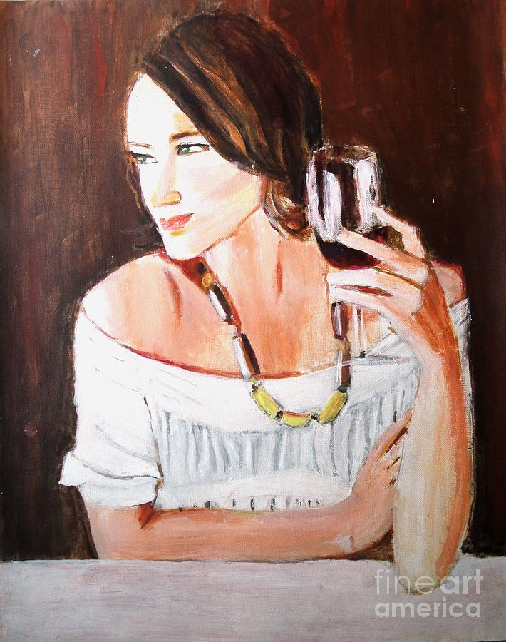 Portraits Painting - Ruby by Judy Kay