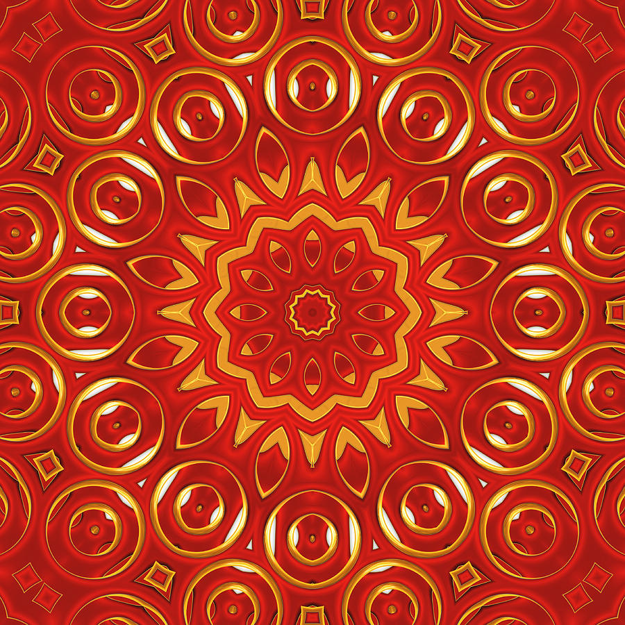 Ruby Digital Art  - Ruby Fine Art Print