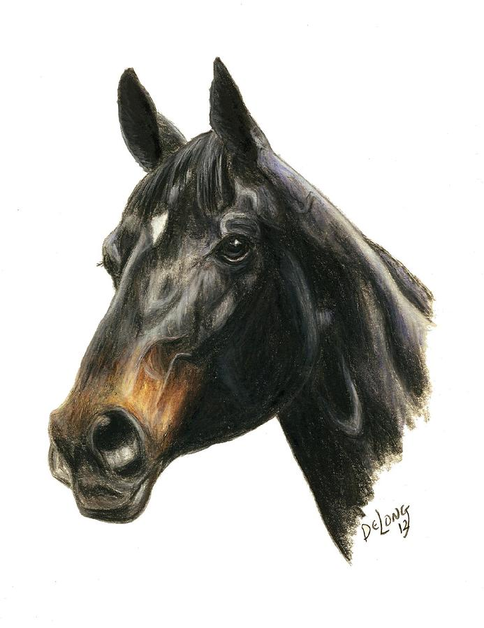Ruffian is a painting by Pat DeLong which was uploaded on October 11th ...