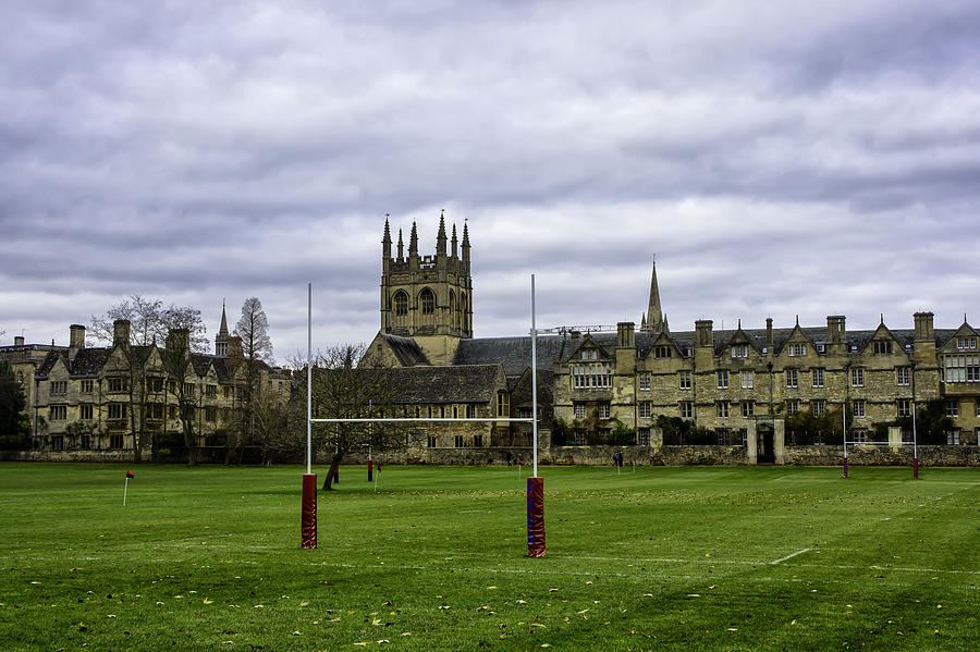 Rugby Field Photograph By Diana Weir