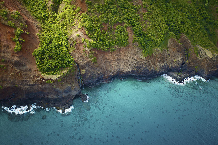 Rugged Kauai Coastline Photograph