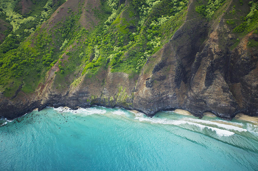 Rugged Na Pali Coast Photograph