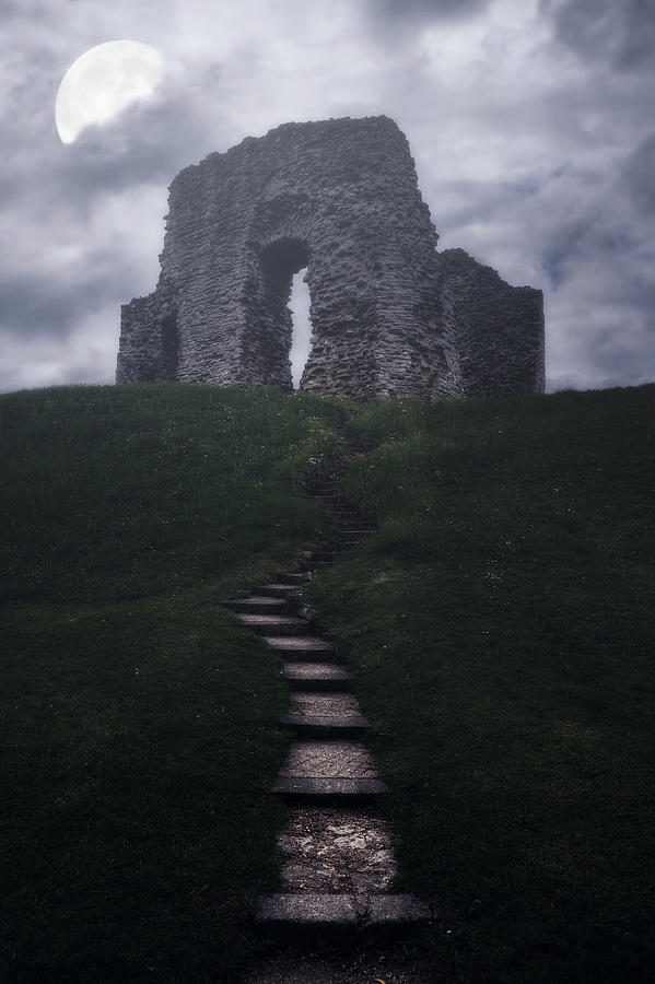 Ruin Of Castle Photograph  - Ruin Of Castle Fine Art Print