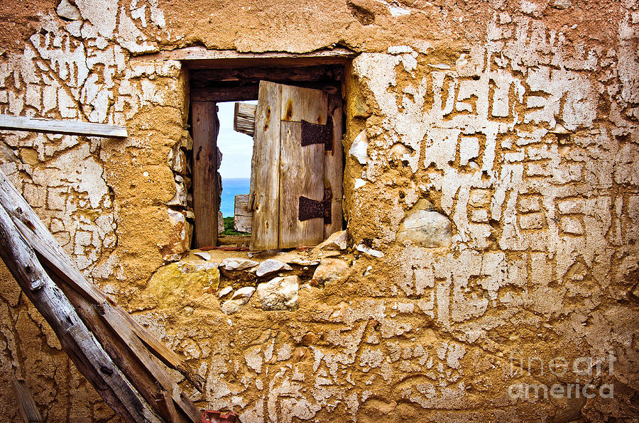 Abandoned Photograph - Ruined Wall by Carlos Caetano