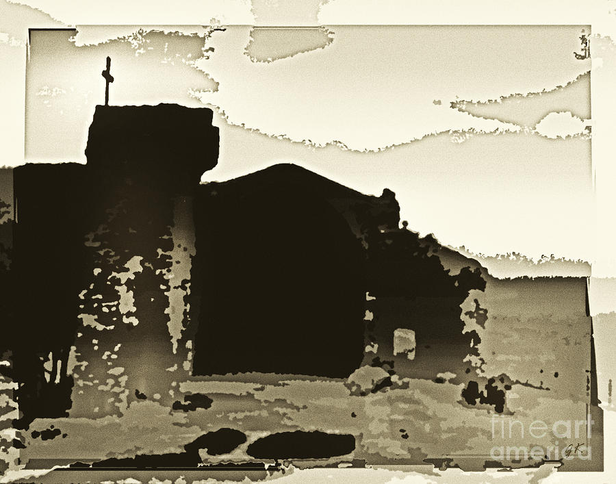 Ruins At Tossa Del Mar - Spain Photograph  - Ruins At Tossa Del Mar - Spain Fine Art Print