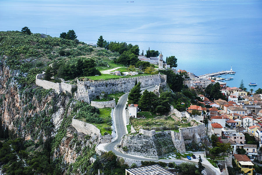 Nafplio Photograph - Ruins Of Acronafplia by David Waldo