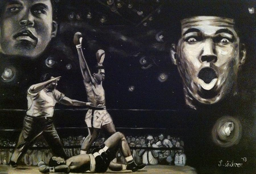 Rumble Young Man Rumble Painting