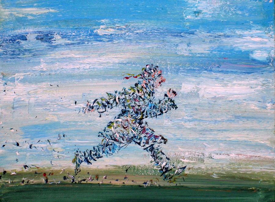 Casanova Painting - Run Casanova Run by Fabrizio Cassetta
