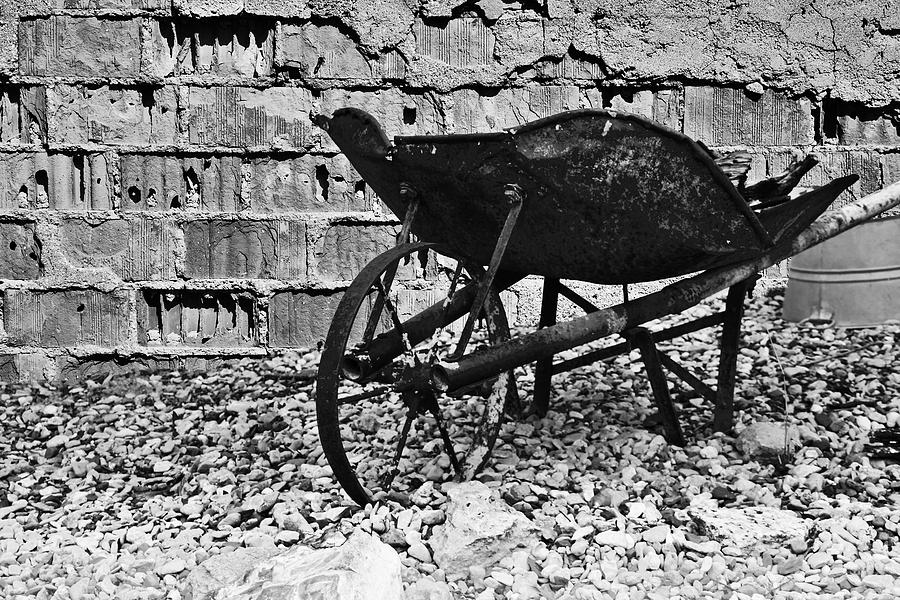 Run-down Wheelbarrow Photograph
