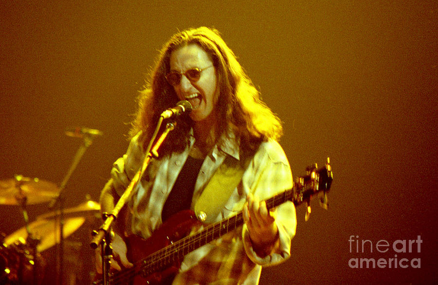 Rush92-geddy-a004 Photograph  - Rush92-geddy-a004 Fine Art Print