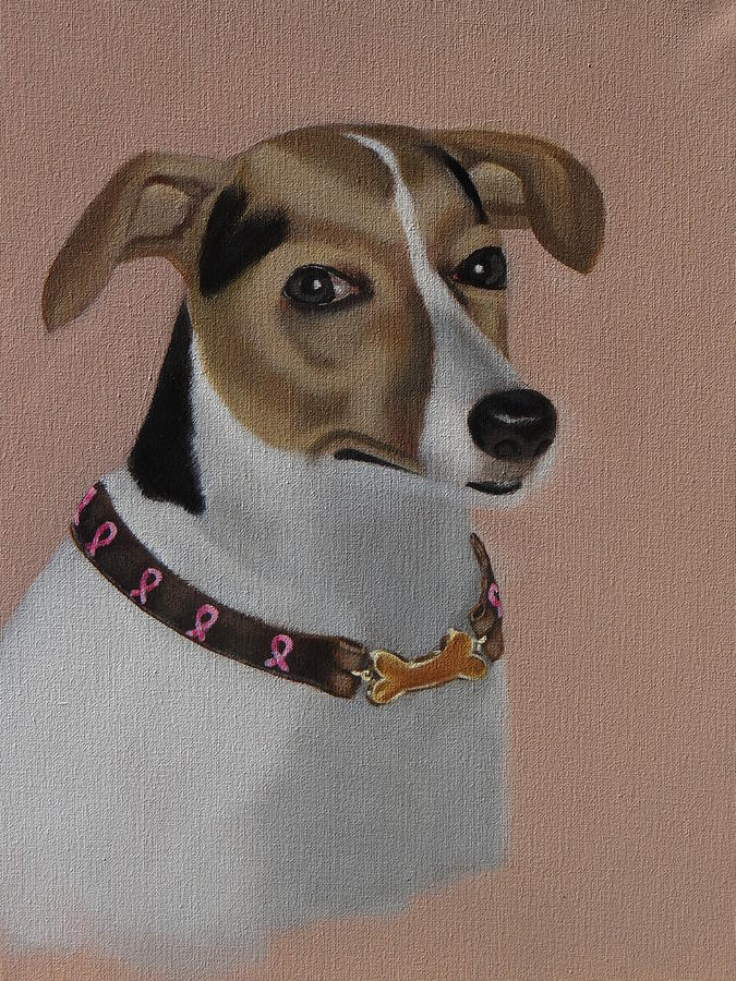 Russell Terrier  Painting