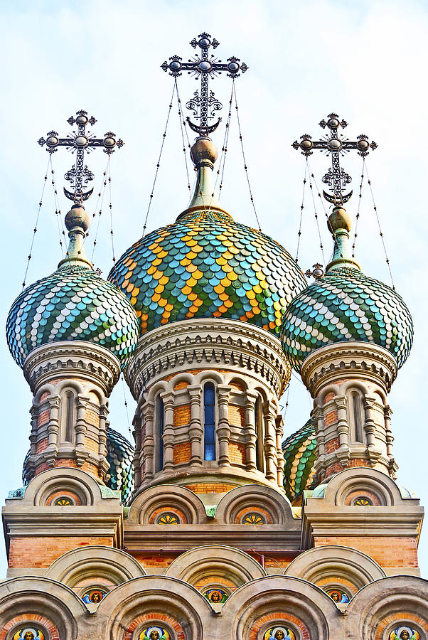 Russian Orthodox Church Of Nativity Photograph