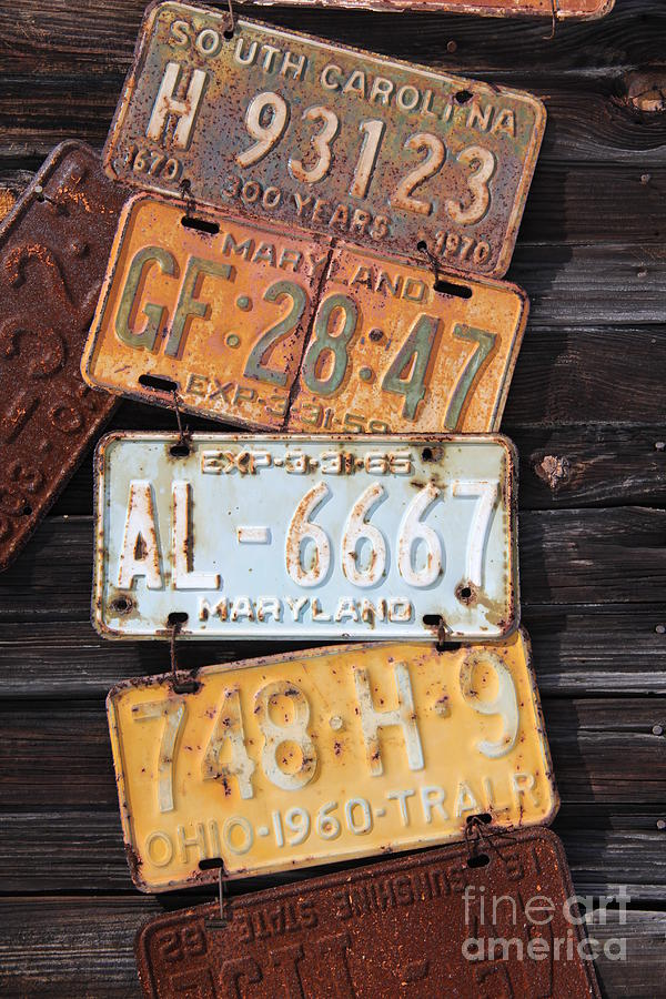 Rusted Plates Photograph