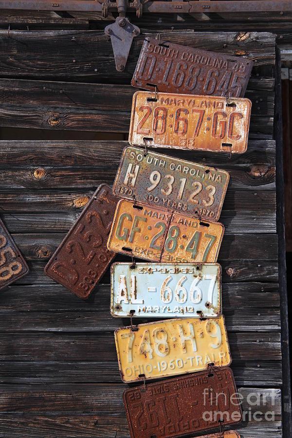 Rusted Usa Photograph