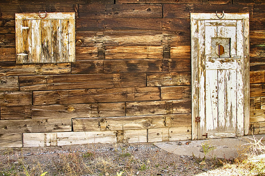 rustic old colorado barn door and window photograph by With barn doors colorado