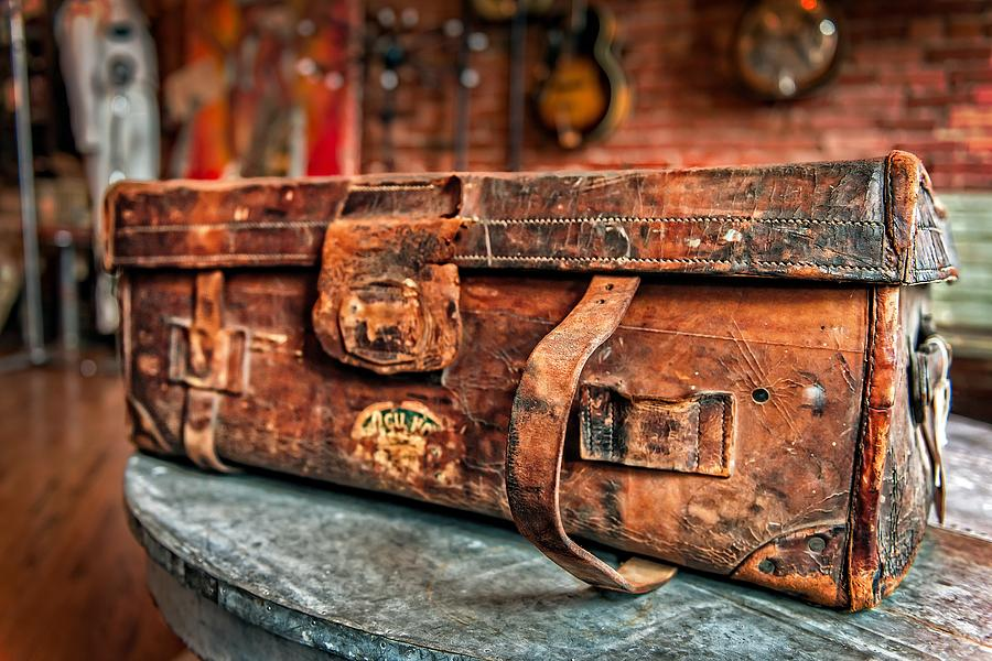 Rustic Trunk Photograph  - Rustic Trunk Fine Art Print