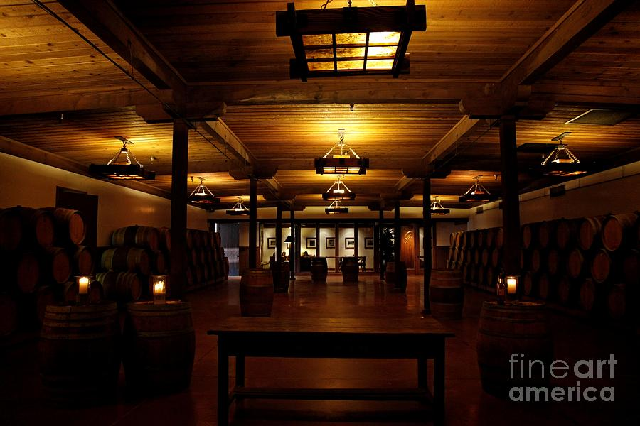 Rustic Wine Cellar Photograph