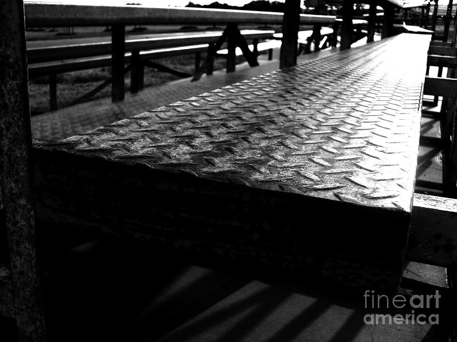 Rusty Bench In The Park Photograph  - Rusty Bench In The Park Fine Art Print