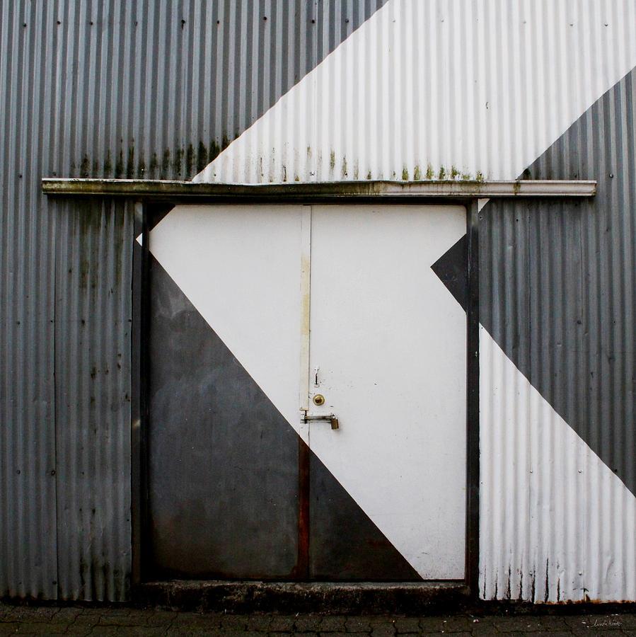 Rusty Door- Photographay Mixed Media