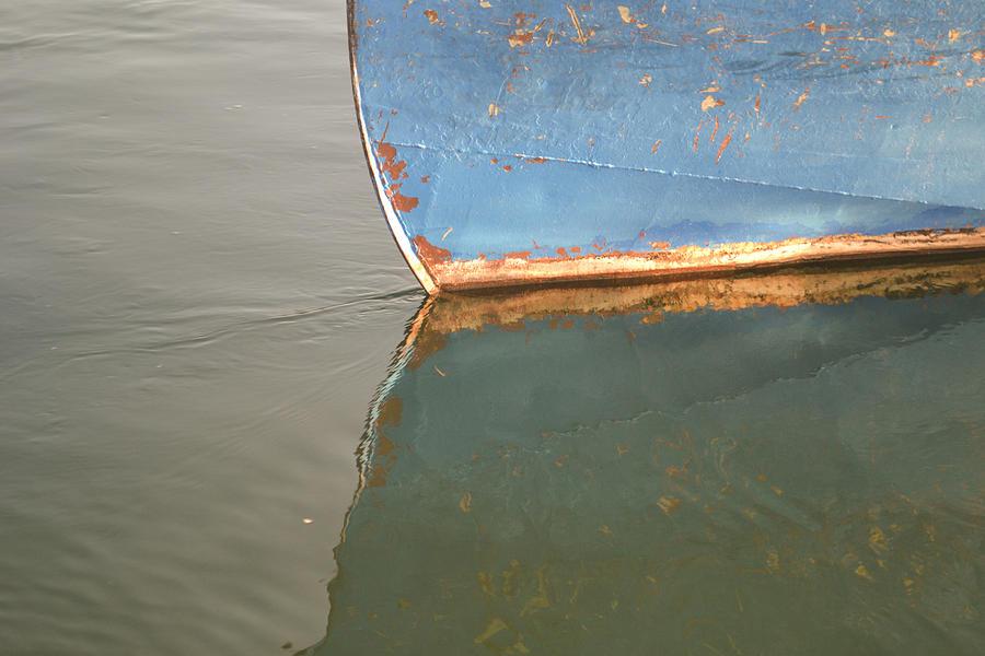 Rusty Hull Reflection Photograph